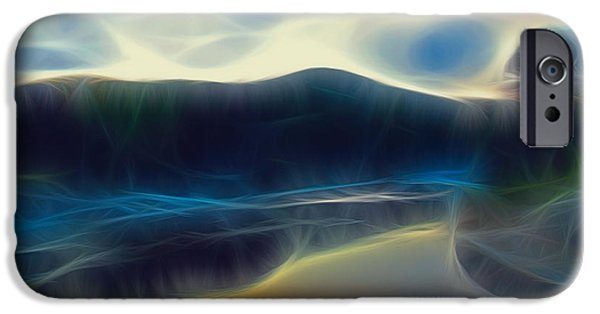 Art166.com iPhone Cases - River of Dreams and Wishes iPhone Case by Wendy J St Christopher