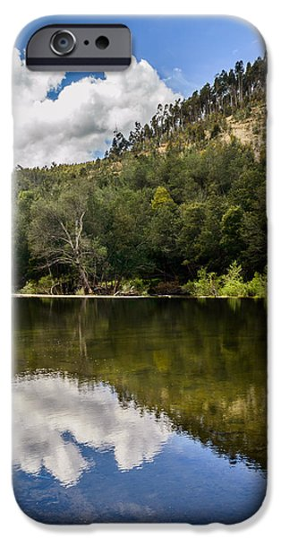 River Reflections I iPhone Case by Marco Oliveira