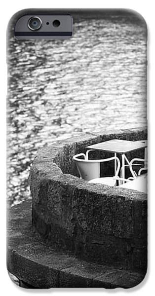 River Seat iPhone Case by John Rizzuto