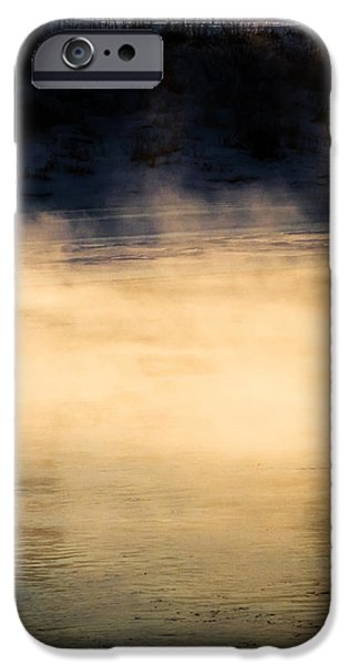 River Smoke iPhone Case by Bob Orsillo