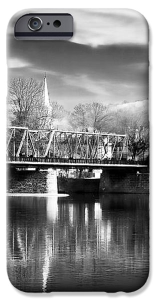 River View in New Hope iPhone Case by John Rizzuto