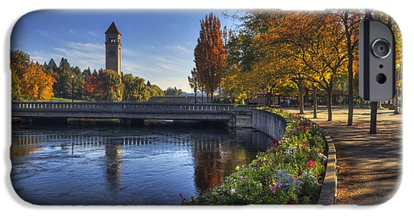 Fair iPhone Cases - Riverfront Park - Spokane iPhone Case by Mark Kiver