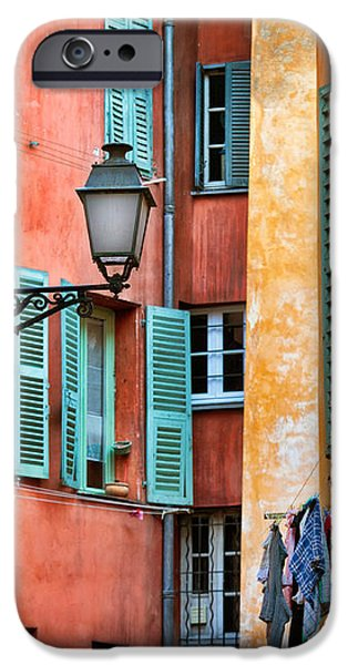 Riviera Alley iPhone Case by Inge Johnsson