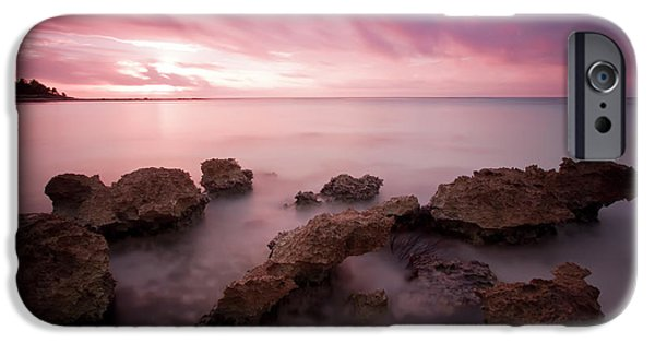 Violet Photographs iPhone Cases - Riviera Maya Sunrise iPhone Case by Adam Romanowicz