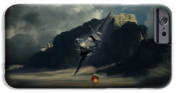 Wwi iPhone Cases - RNLAF Lightning II iPhone Case by Peter Van Stigt