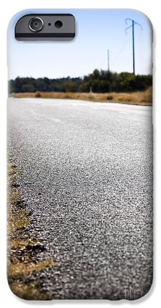 Road Edge iPhone Case by Tim Hester