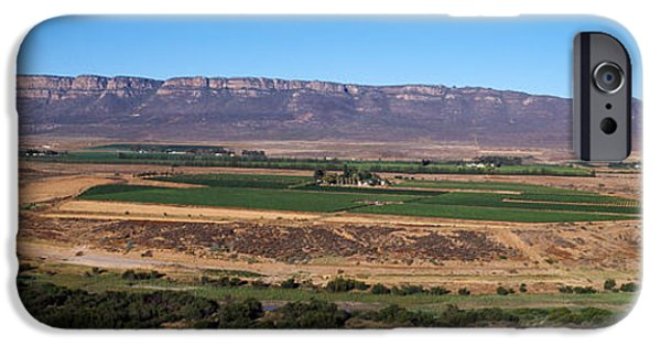 Cape Town iPhone Cases - Road From Cape Town To Namibia iPhone Case by Panoramic Images