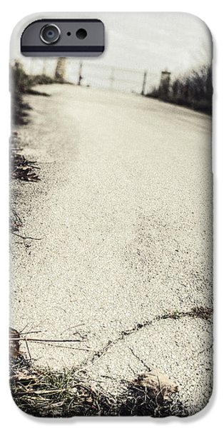 Road Less Traveled iPhone Case by Margie Hurwich