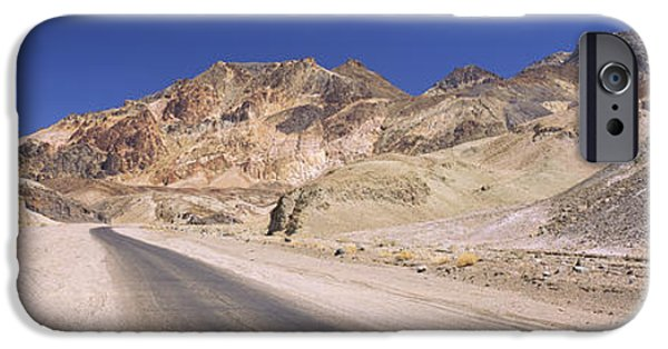 Mountain iPhone Cases - Road Passing Through Mountains, Artists iPhone Case by Panoramic Images