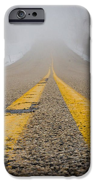 Road to Nowhere iPhone Case by Bill Pevlor
