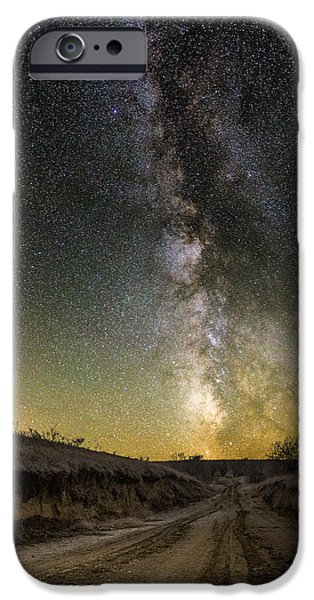 Rift iPhone Cases - Road to Nowhere - Great Rift iPhone Case by Aaron J Groen