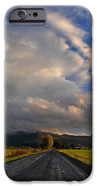 Road To Nowhere iPhone Case by JM Photography    Jim Mullholand