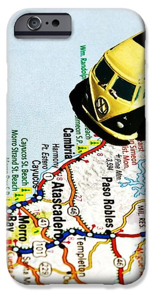 Road Trip - The PCH iPhone Case by Benjamin Yeager
