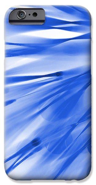 Pantone iPhone Cases - Roadhouse Blues iPhone Case by Dazzle Zazz