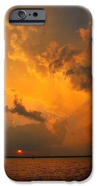 Roar of the Heavens iPhone Case by Terri Gostola