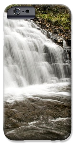 Roaring Falls Salt Springs iPhone Case by Christina Rollo