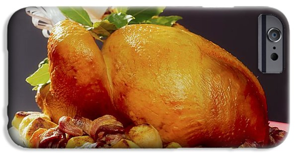 """indoor"" Still Life Photographs iPhone Cases - Roast Turkey iPhone Case by The Irish Image Collection"