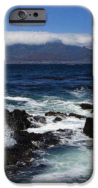 Robben Island View iPhone Case by Aidan Moran