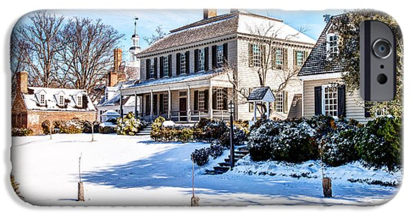 Carter House iPhone Cases - Robert Carter House iPhone Case by George Hunt Jr