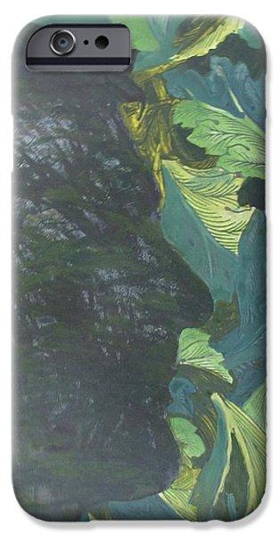Robert De Niro Paintings iPhone Cases - Robert De Niro Portrait iPhone Case by Kurt Olson