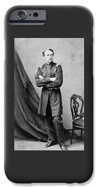 Regiment iPhone Cases - Robert Gould Shaw iPhone Case by War Is Hell Store