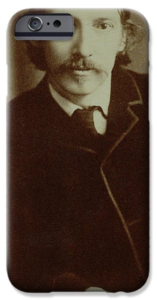 Arrest iPhone Cases - Robert Louis Stevenson iPhone Case by English School
