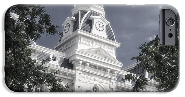 Franklin iPhone Cases - Robertson County Courthouse iPhone Case by Joan Carroll