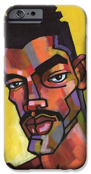 Figures iPhone Cases - Rocco iPhone Case by Douglas Simonson