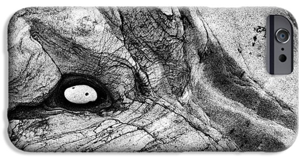 Stratum iPhone Cases - Rock and Pebble iPhone Case by Tim Gainey