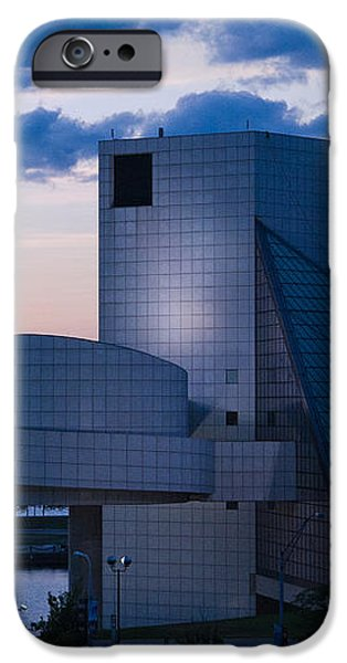 Rock and Roll Hall of Fame iPhone Case by Dale Kincaid