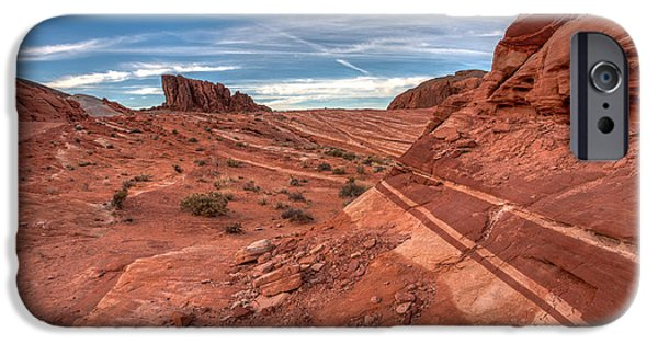 Red Rock iPhone Cases - Rock Bands iPhone Case by Peter Tellone