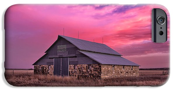 Unused iPhone Cases - Rock Barn iPhone Case by Thomas Zimmerman