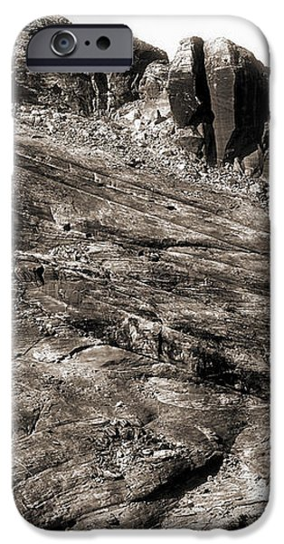 Rock Details iPhone Case by John Rizzuto