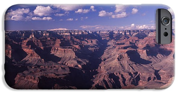 Grand Canyon iPhone Cases - Rock Formations At Grand Canyon, Grand iPhone Case by Panoramic Images