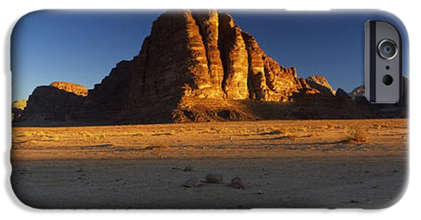 Jordan iPhone Cases - Rock Formations On A Landscape, Seven iPhone Case by Panoramic Images