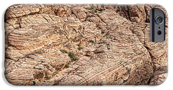 Red Rock iPhone Cases - Rock Formations, Red Rock Canyon iPhone Case by Panoramic Images