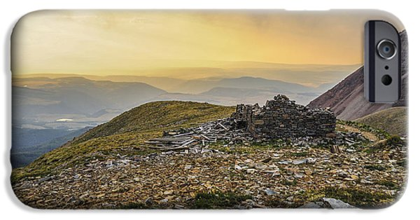 Wildfire iPhone Cases - Rock House Ruins iPhone Case by Aaron Spong