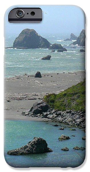 Rock West Coast iPhone Case by Mike McGlothlen