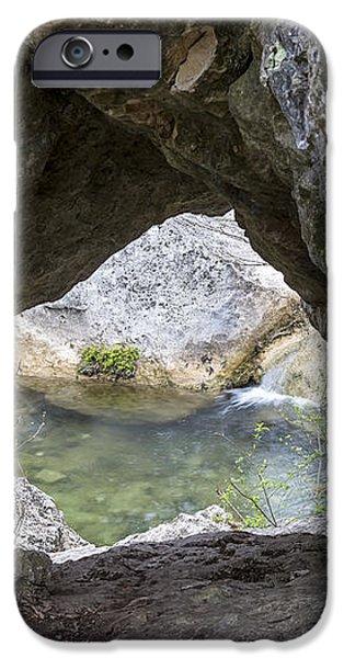 Rock Window iPhone Case by David Morefield