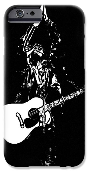 1950s Portraits iPhone Cases - Rockabilly iPhone Case by Toppart Sweden