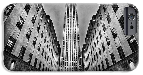 U.s.a. iPhone Cases - Rockefeller Centre iPhone Case by John Farnan