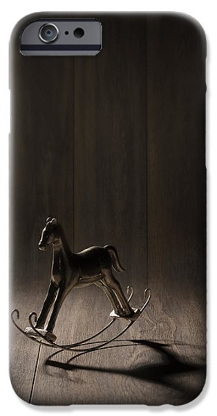 Child iPhone Cases - Rocking Horse iPhone Case by Amanda And Christopher Elwell