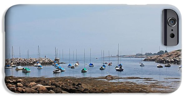 Rockport Ma iPhone Cases - Rockport Harbor 2 iPhone Case by Michael Saunders