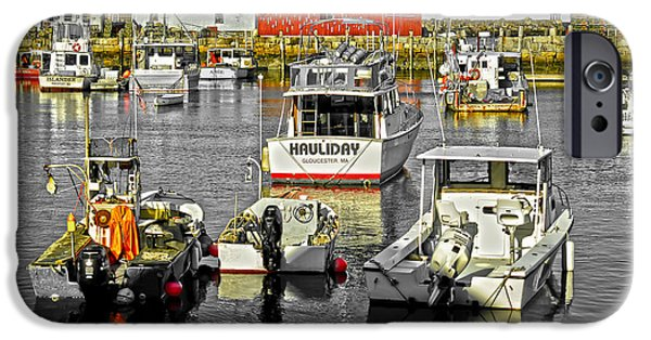 Rockport Ma iPhone Cases - Rockport Harbor II MA iPhone Case by David Simpson