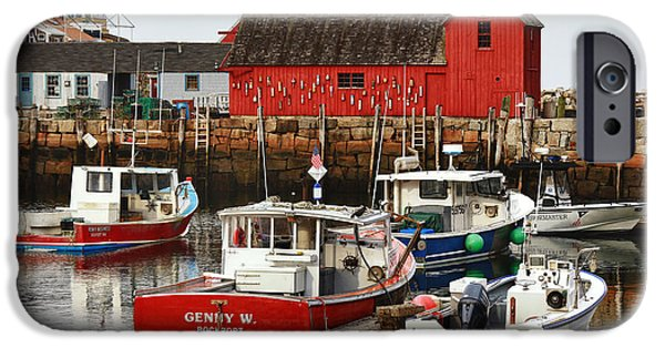 Rockport Ma iPhone Cases - Rockport Ma iPhone Case by Christian Anderson