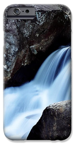 Rocks and Waterfall iPhone Case by Adam LeCroy