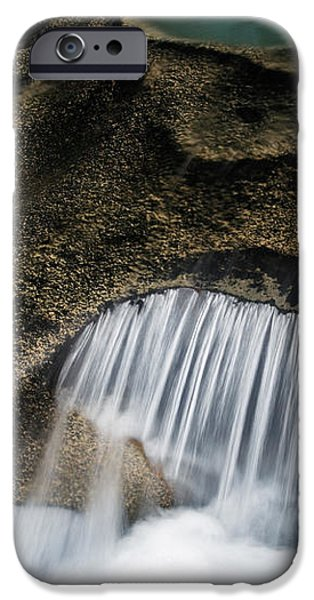 Rocks in Paradise iPhone Case by Inge Johnsson