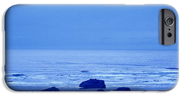 Coos iPhone Cases - Rocks On The Beach, Bandon Beach iPhone Case by Panoramic Images