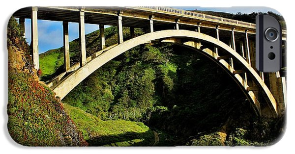 Pch iPhone Cases - Rocky Creek Bridge iPhone Case by Benjamin Yeager