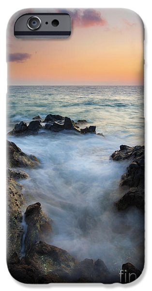 Rocky Inlet Sunset iPhone Case by Mike  Dawson